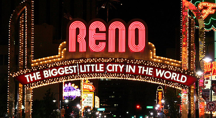 Reno Casino Sign